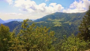 La Val Palot e il Passo di San Zeno