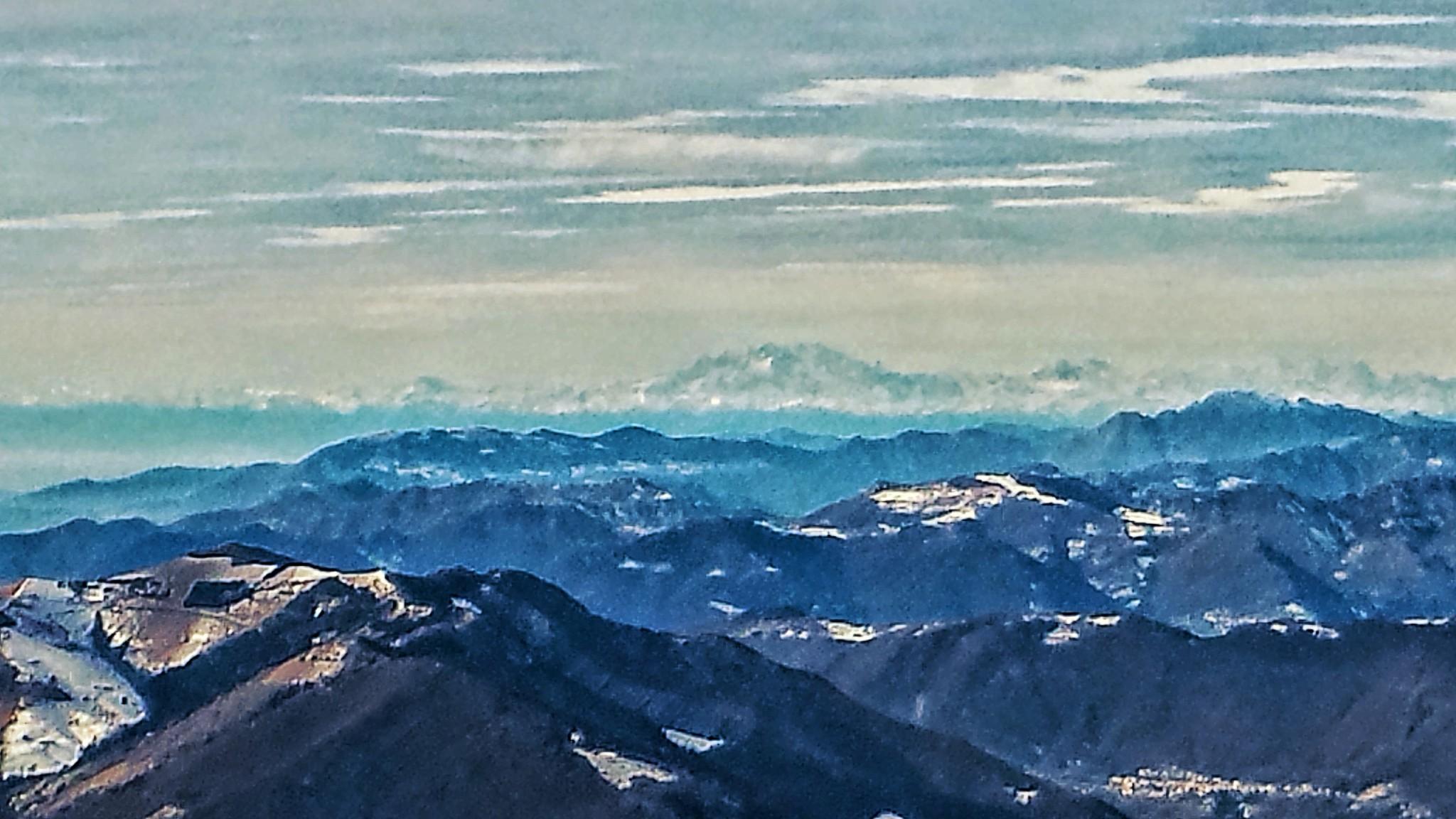 Monte Rosa in lontananza