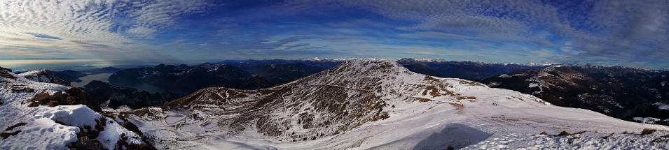 Panoramica sul Lago d'Ideo e la Valle Camonica 1