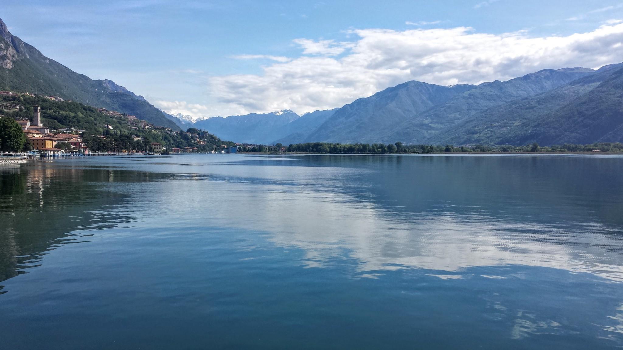 Giro del lago di Iseo con salita a Solto