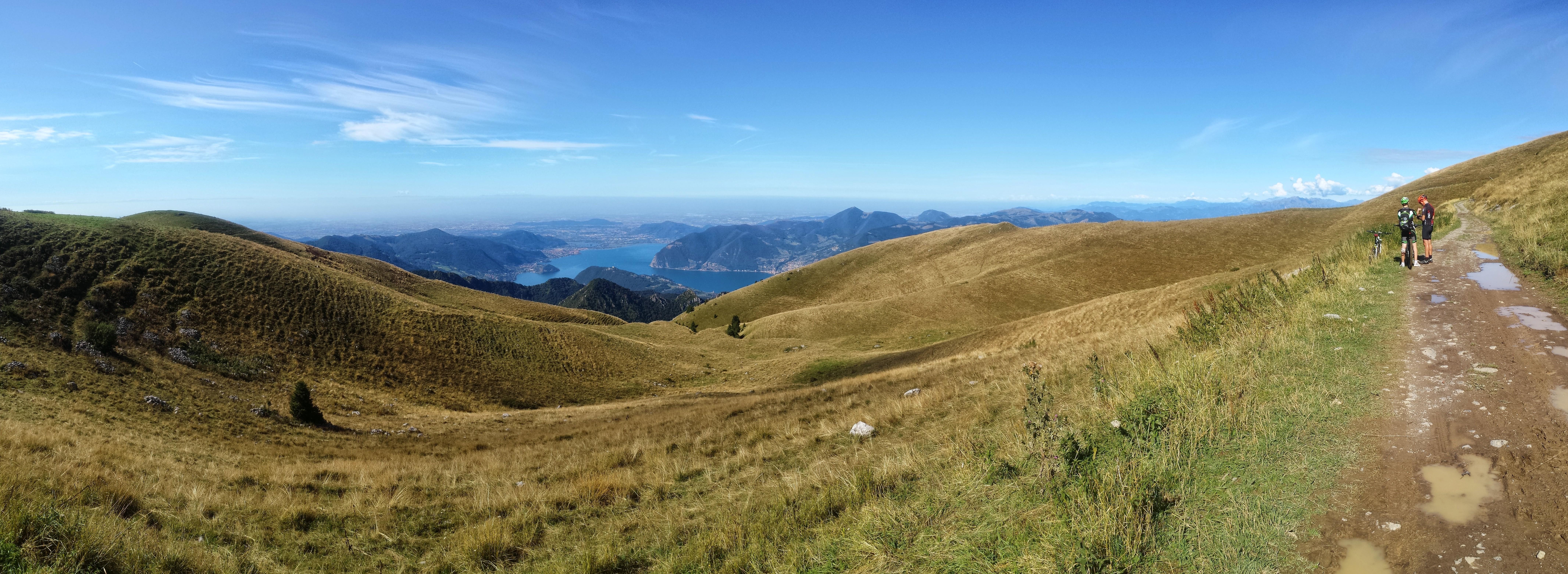 Salita veloce in Monte Guglielmo