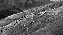 Il n°315 e 316 dalla Valle di Inzino verso il Monte Guglielmo