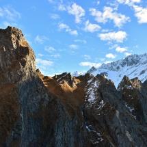 Nella Val Paghera sino al bivacco Valerio Festa