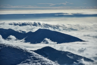 Prima neve, inverno 2015/2016 in Guglielmo