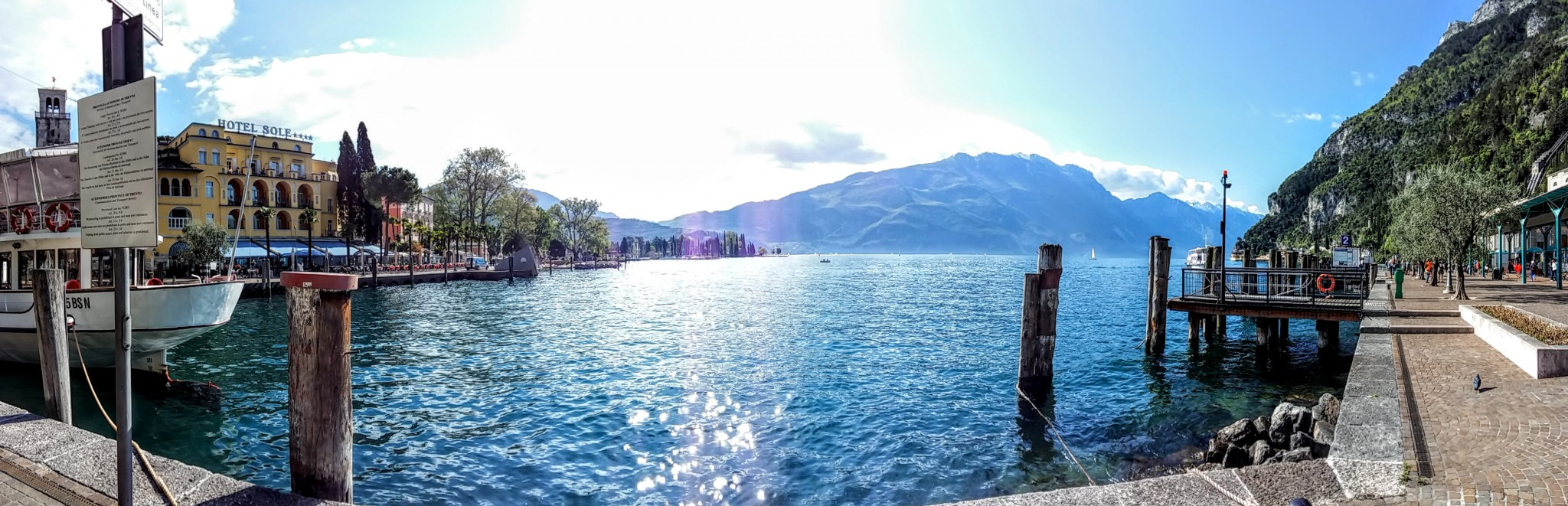 Bike ride around Garda Lake