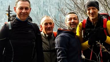 Massimo, Dario, Aldo, Roby